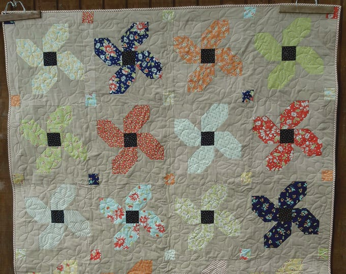 Posey Parade beginner quilt pattern