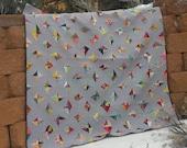 Uncut Diamonds, a modern quilt pattern