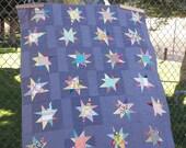 Sparkle a modern baby quilt pattern