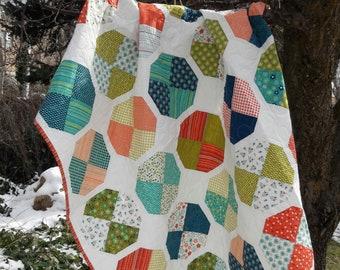 Beach Balls  layer cake quilt pattern