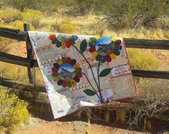 Hello Sunshine scrap quilt pattern