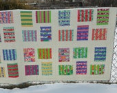 Raised Beds a layer cake pdf quilt pattern