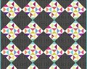HST series block 7 w/ quilt option