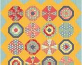 Beach balls and Umbrellas pdf quilt pattern