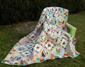 Mary's Garden, a scrap quilt pattern