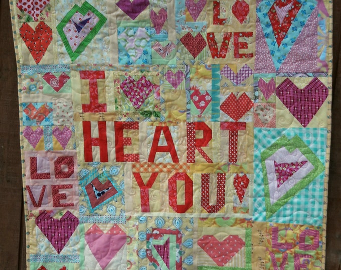 Crazy Love, a Free Form Scrap Quilt Pattern