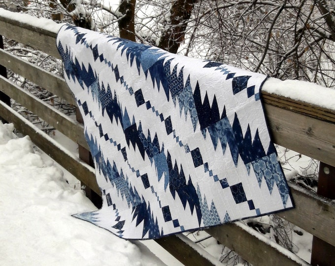 Rhythm & Blues masculine quilt pattern