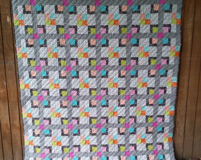 Bandbox multiple size pdf quilt pattern
