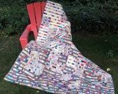 Gradation Modern Scrap Quilt Pattern