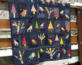 Enchanted Forest a free form, scrap quilt pattern
