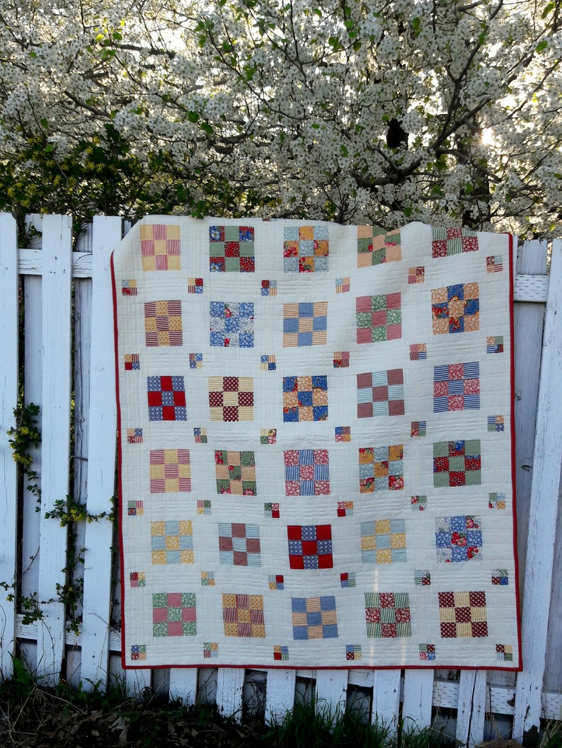Floating Boxes quilt pattern image 0