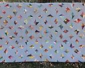 Uncut Diamonds, a modern quilt pdf pattern