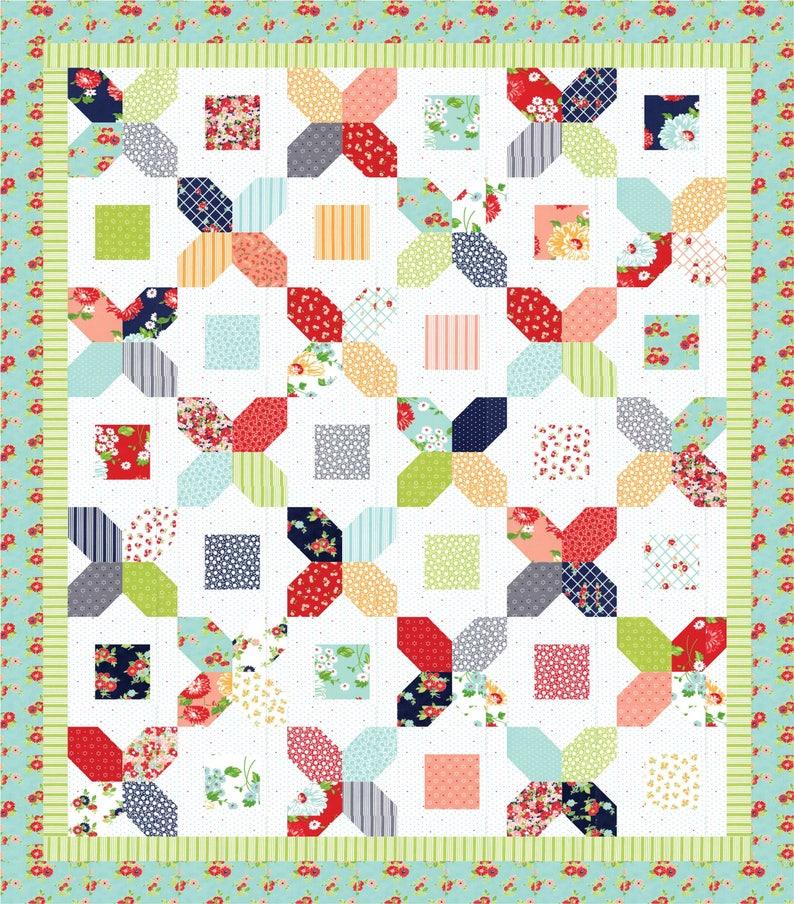 A Bushel and A Peck pdf quilt pattern image 0