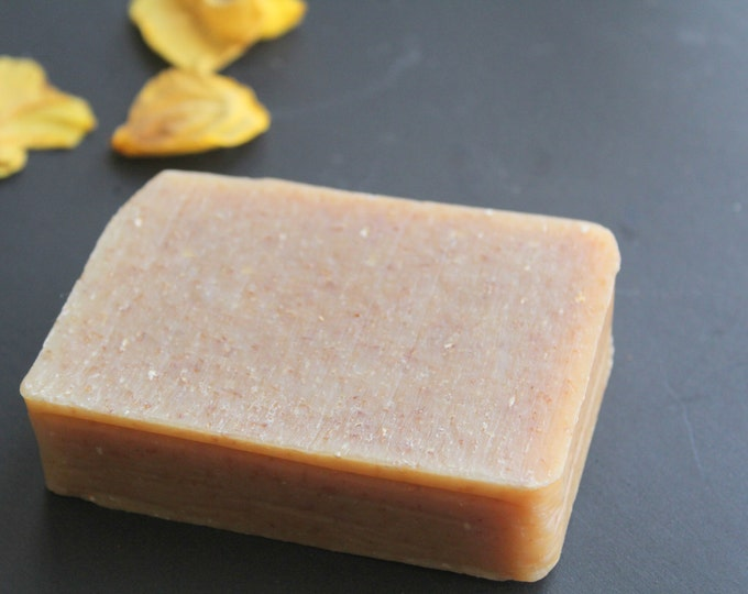 Oatmeal Honey, All Natural, Eczema Soap w/ bees wax. fragrance free