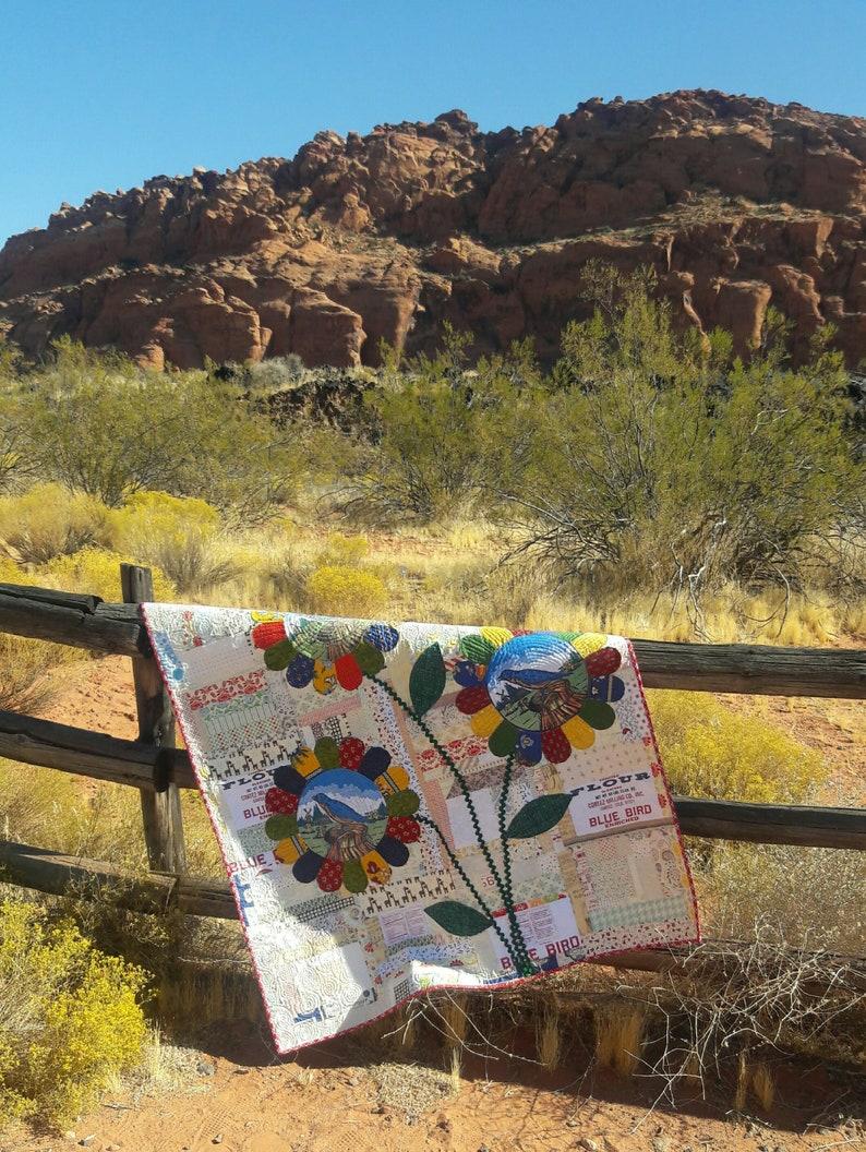 Hello Sunshine scrap quilt pattern image 0