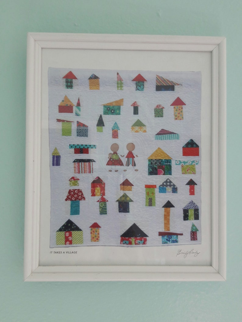 Downloadable print for your home It Takes a Village image 0