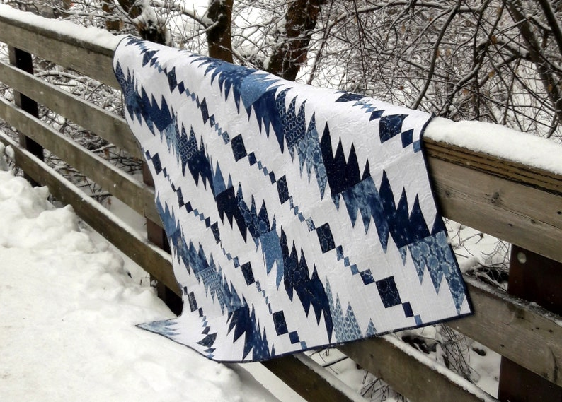 Rhythm & Blues masculine quilt pattern image 0