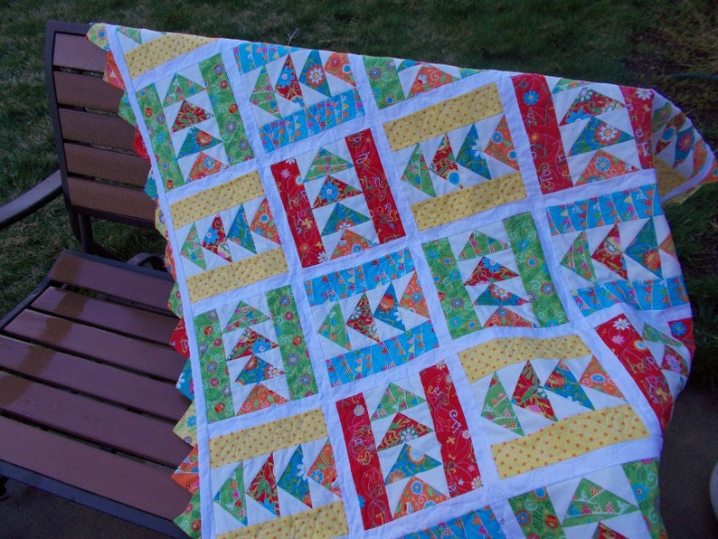 Picnic in the Park pdf quilt pattern image 0