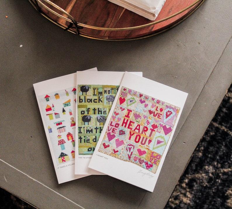 Set of three greeting cards image 0