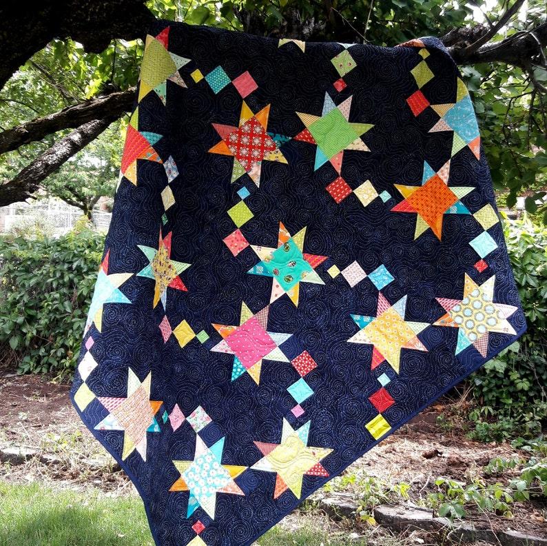 Shooting Stars quilt pattern image 0