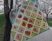 Wonky Rose Garden quilt pattern