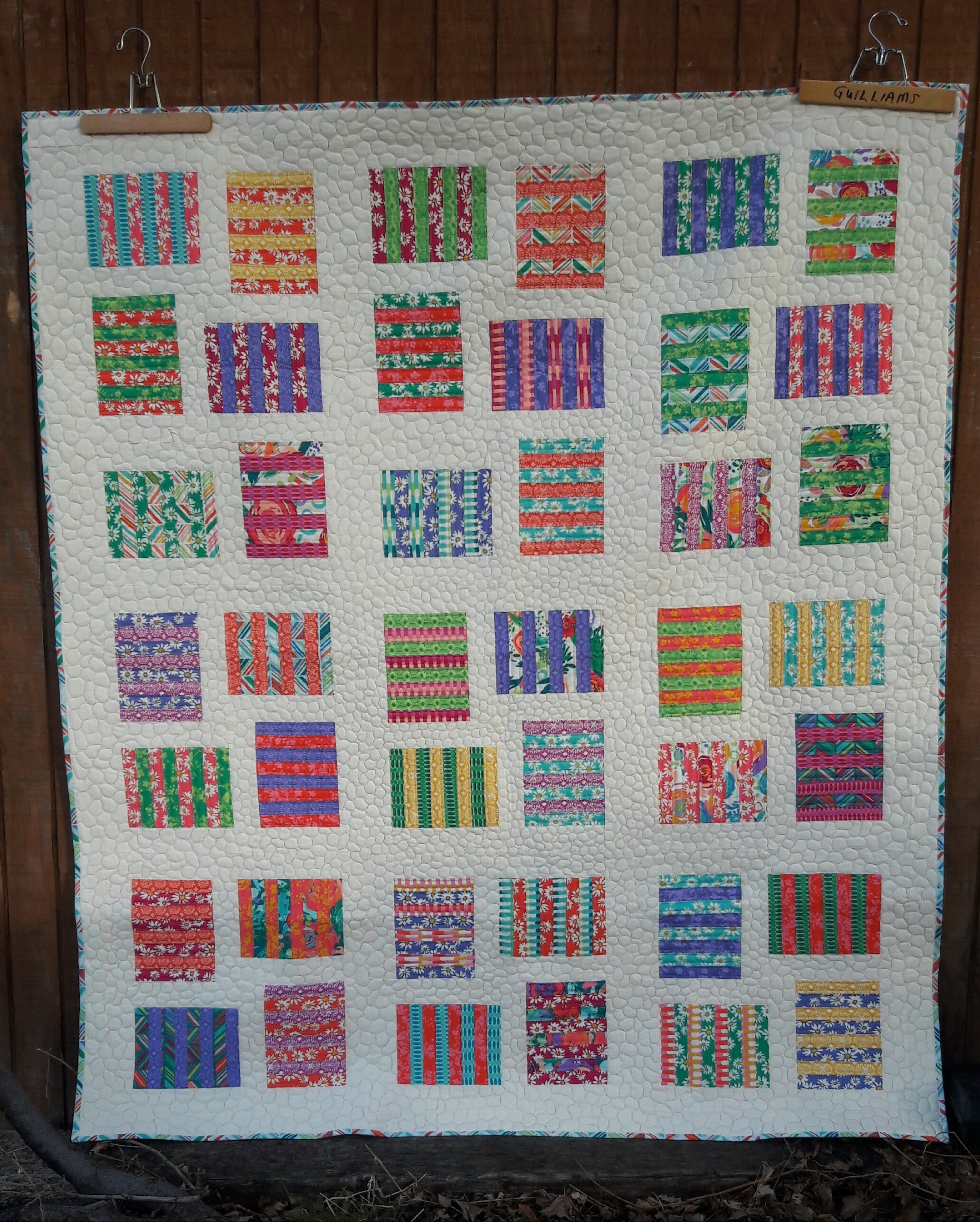 Raised Beds A Patchwork Layer Cake Friendly Beginner Quilt Pattern