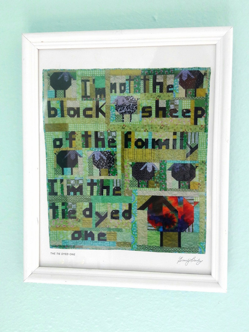 Downloadable print I'm Not the Black Sheep image 0