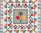 Mountain Home Medallion pdf quilt pattern