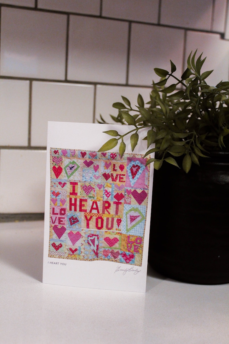I Heart You greeting card image 0
