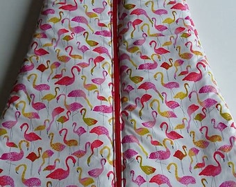 "Sleeping bag ""flamingos"" 18 month long sleeve"