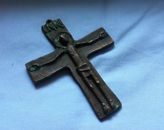 Vintage Metal Christianity Cross Spiriuality Communion decoration