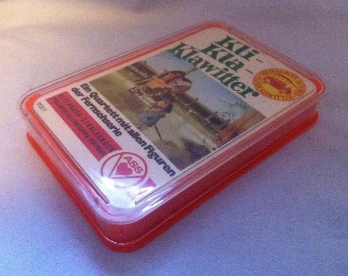 Vintage Games quartet CPI-KLA-Klawitter card games cards