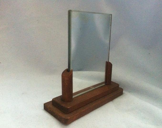 Vintage Mirror Doll room accessories miniature Stand mirror