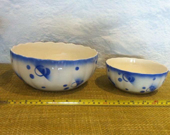 Vintage Bowls Spritz Decor nice Decoration Object