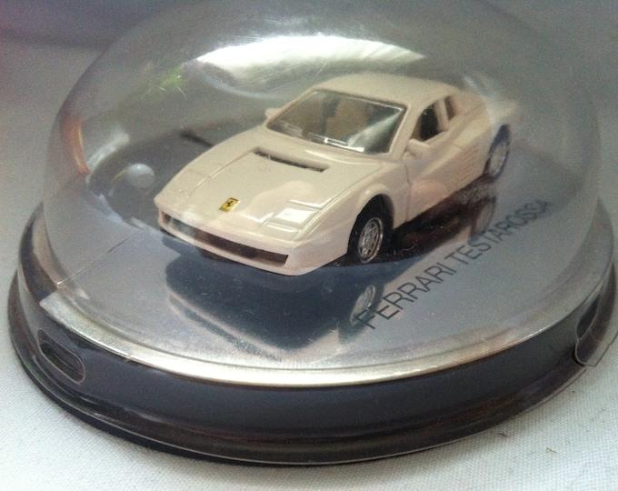 Vintage Majorette Ferrari Testarossa Deluxe Collection Model car toy car white 1/60