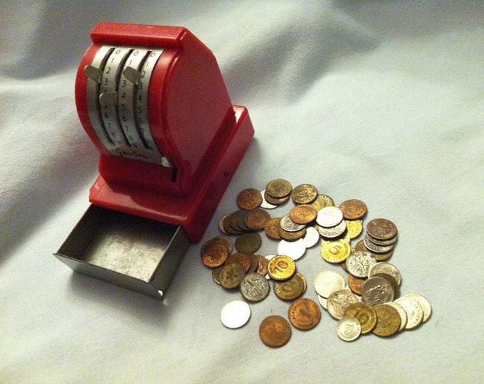 Accessory Shop Box coin German money puppets miniature