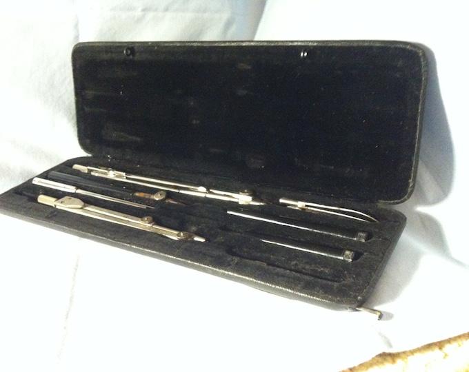 Vintage Circle Box Alda plant Precision P V