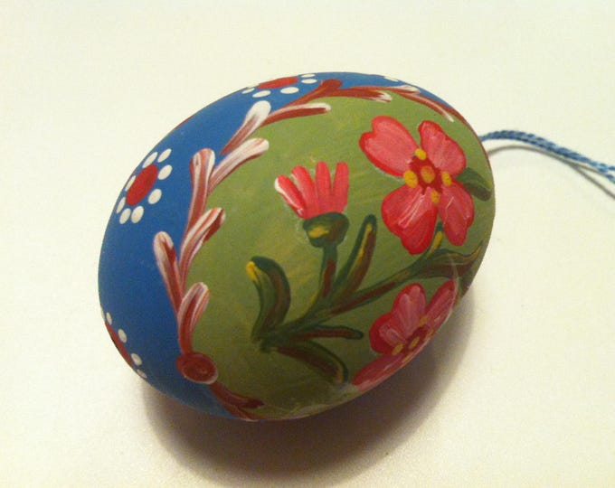 Vintage egg Painted beautiful Decoration