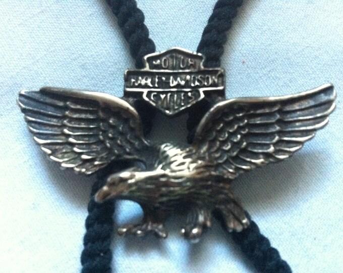 Vintage harley Davidson fashion Jewelry band Eagle Pendant