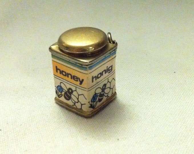 Antique Doll House Accessories Honey can decoration object miniature