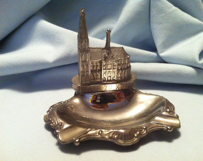 Vintage Souvenir Koeln Dom Germany Building  miniatures metal