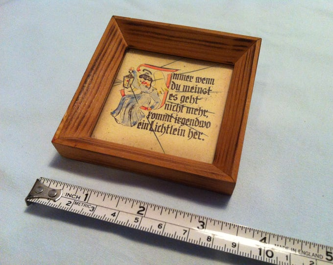 Vintage Picture Frames beautiful dollhouse accessoires wall picture deco painted