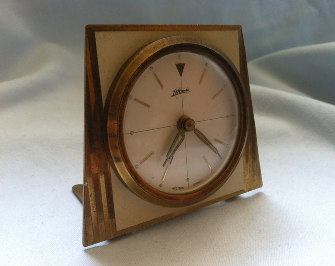 Vintage table Clock watch Atlanta western Germany