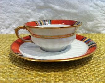 Vintage espresso Mocha coffee coffee cup cup Thomas Bavaria porcelain porcelain ceramic builds