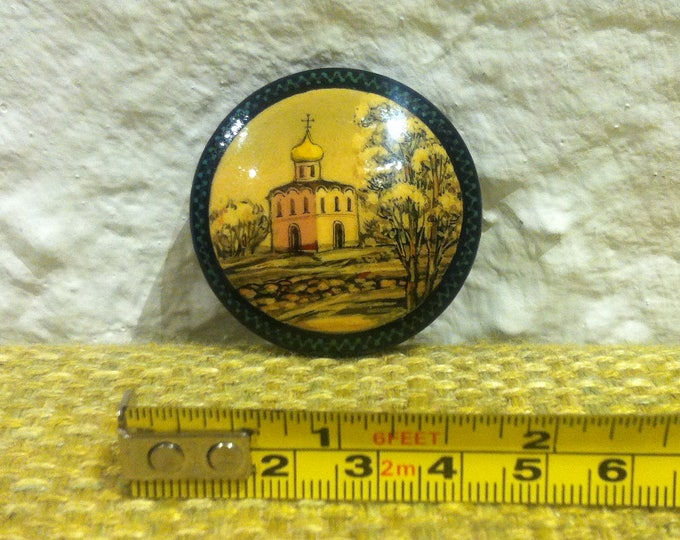 Vintage brooch pin costume jewelery souvenir