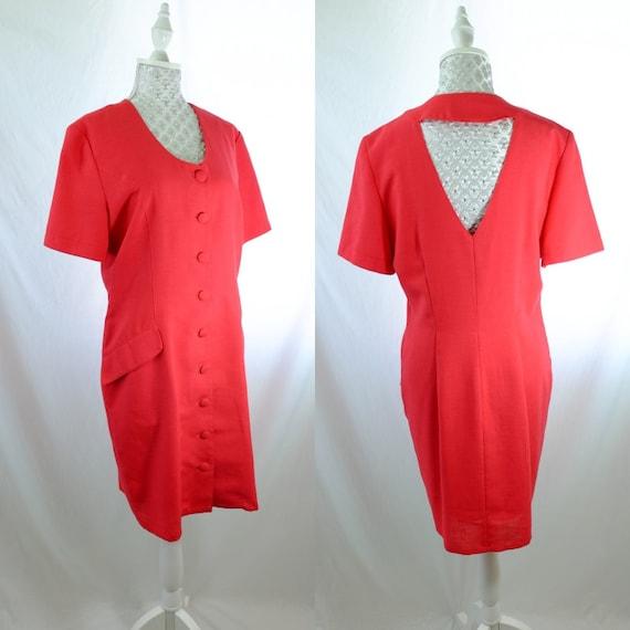 Vintage Red Dress Cute