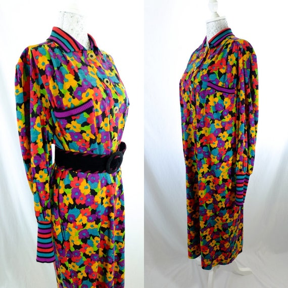 6b705cffa72 Tibi Vintage Designer Dress  Maxi Dress  Retro Dress  spring