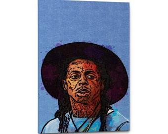 Lil Wayne Canvas Wall Art Print 5cc6171f1caf