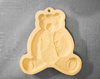Shortbread Mold by Brown Bag Cookie Art,  Bear ©1984