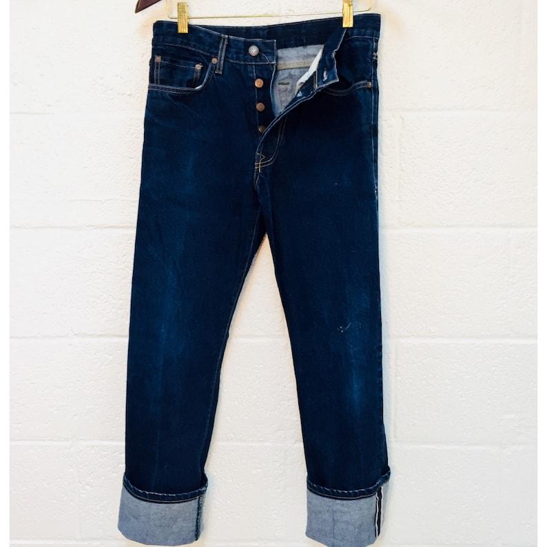 66edd583d Imogene Willie Redline Selvedge Indigo Rigd Jeans Men's | Etsy